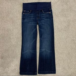"""7 For All Mankind trouser maternity jeans 28""""x 31"""""""